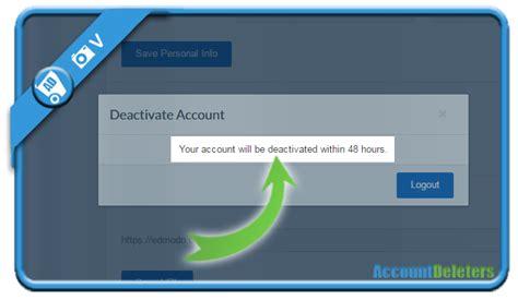edmodo how to delete account how to delete my edmodo account accountdeleters