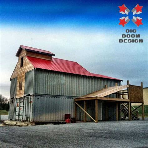 shipping containers  perfect barn solution  aussie
