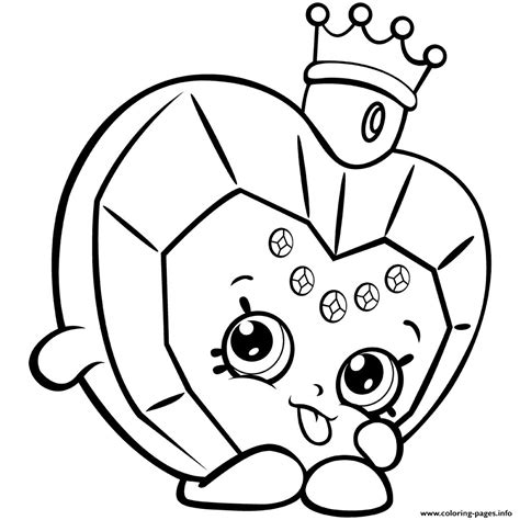 Printable Shopkin Pictures Thekindproject Coloring Pages You Can Print