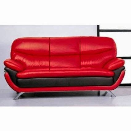 black and red leather sofa red leather sofa