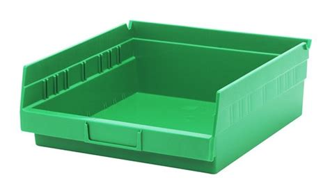 Plastic Shelf Bins by Nesting Plastic Shelf Bin Qsb109 11 5 8 Quot X 11 1 8 Quot X 4