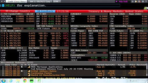 bloomberg help desk introduction to bloomberg terminals