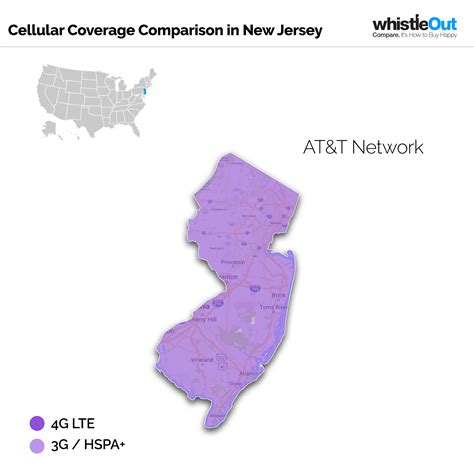 at t coverage map usa best cell phone coverage in new jersey whistleout