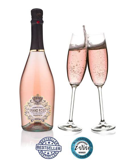 Sparkling Bottle grand ros 233 pink prosecco sparkling wine