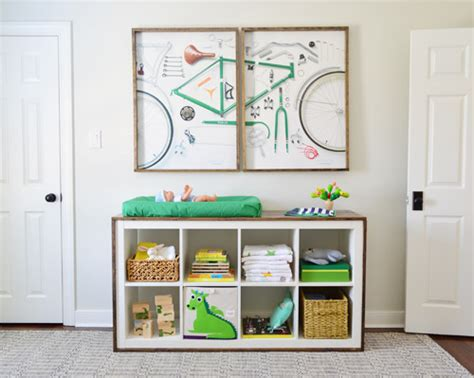 Ikea Changing Table Hack 9 Totally Charming Diy Ikea Hacks For A Nursery Shelterness