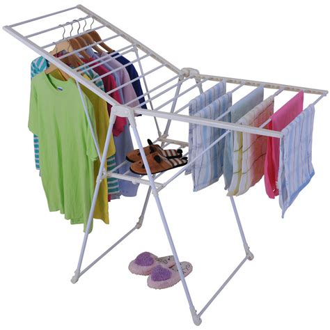 Drying Racks For Laundry by Foldable Gullwing Clothes Laundry Drying Rack Folding
