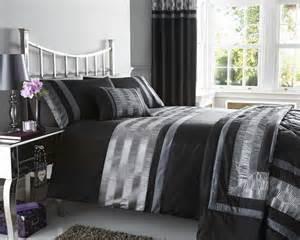 black duvet cover sets black faux silk duvet quilt cover bed set throw cushion