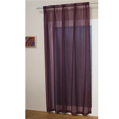Kitchen Panel Curtains Voile Net Slot Top Rod Pocket Curtain Panel Bedroom Kitchen Living Room Curtains