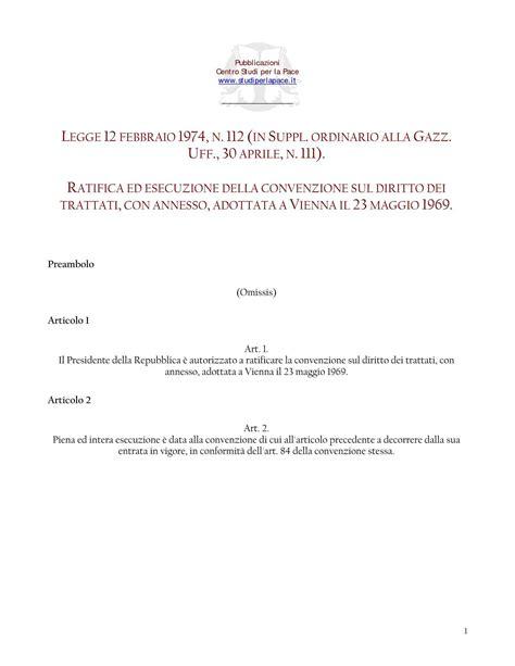 Dispense Diritto Internazionale by Diritto Dei Trattati Convenzione Di Vienna 1969