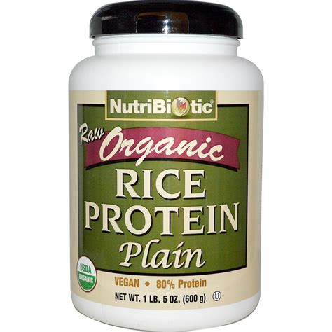 Garden Of Brown Rice Protein Powder Organic Sprouted Brown Rice Protein Powder