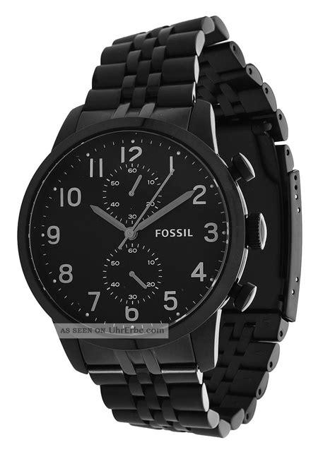 Diesel Brave Date Leather D 4 2cm fossil herren armbanduhr townsman schwarz fs4877