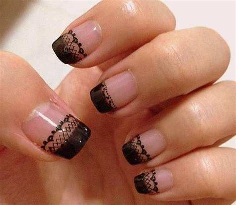 Nail Blacklace 30 astonishingly pretty lace nail designs