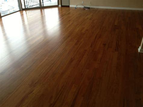Brazilian Cherry Wood Floor Installation Milwaukee WI