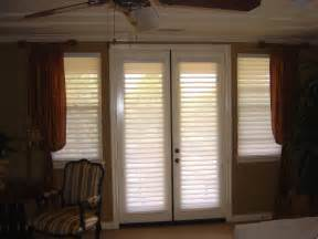 Window treatment for french doors a desirable treat