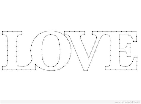 templates for word love download archives string art diystring art diy