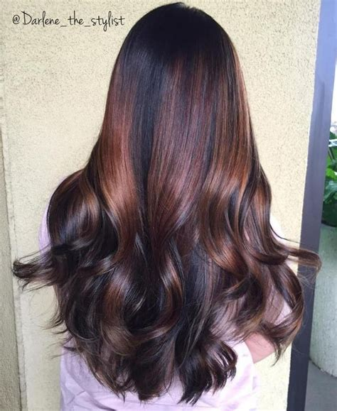 chocolate colored hair 17 best ideas about chocolate cherry hair on