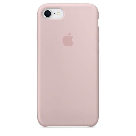 iphone 8 7 silicone pink sand apple