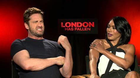 film london has fallen youtube gerard butler angela bassett talk london has fallen