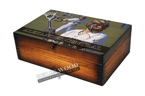 custom gifts personalized lacrosse player memory box gifts