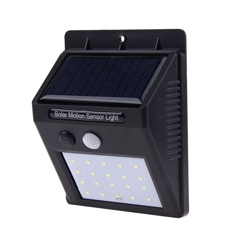 Cheap Security Lights Outdoor 20 Led Solar Power Pir Motion Sensor Led Wall Light Outdoor Waterproof Energy Saving L