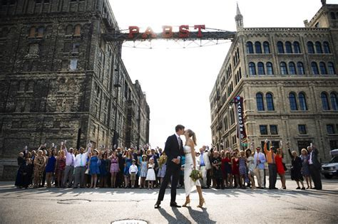Pabst Best Place Wedding Milwaukee Photographer   Erin and