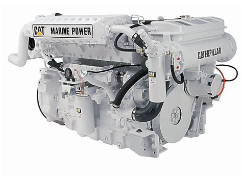 caterpillar boat engines c12 high performance marine propulsion engine finning cat
