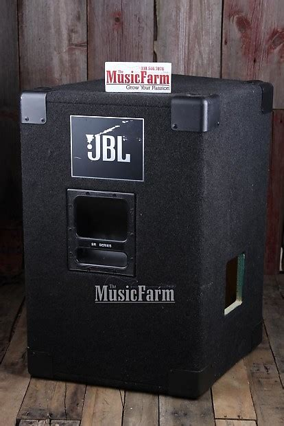 empty 15 inch speaker cabinets jbl sr4725 pair 15 inch empty speaker cabinets 2