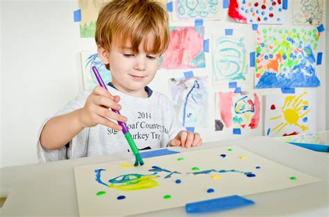 Tips For Painting With Toddlers Project Nursery Painting For Childrens