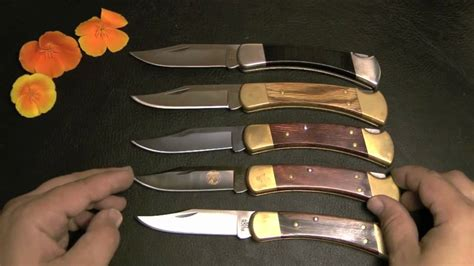 buck knife 110 review buck 110 knives collection review