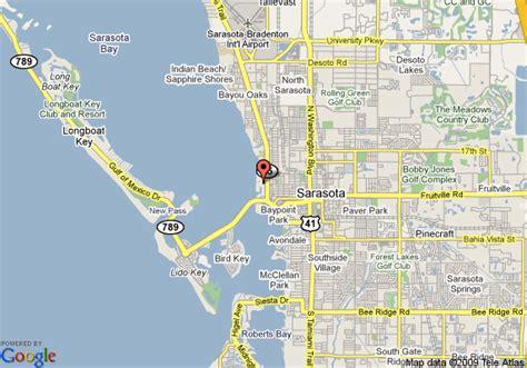 sarasota florida map map of hotel indigo sarasota sarasota