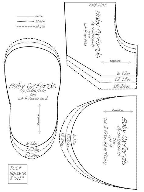 sapatinhos de beb on pinterest shoe pattern baby shoes and molde de sapatinho de bebe em tecido pesquisa google