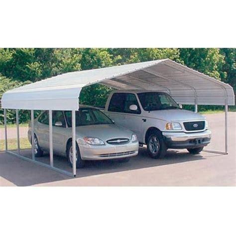 Vehicle Shelter Carport Versatube Two Vehicle Steel Shelter 20ft L X 30ft W X