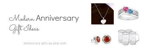 Modern Wedding Anniversary Gift Ideas   16th, 17th, 18th 19th