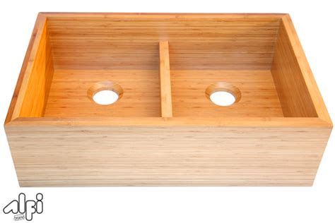 alfi brand ab3321 33 bowl bamboo kitchen farm