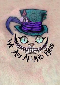 mad love tattoo cheshire cat always a favourite the mask he portrays a