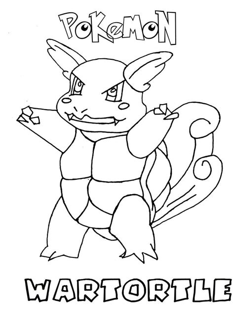 pokemon coloring pages wartortle wartortle pokemon coloring page coloring home