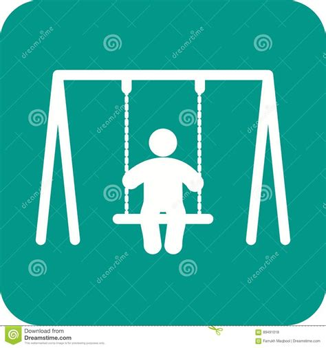 Lifestyle Swing by Swinging Stock Vector Illustration Of Activity Concept