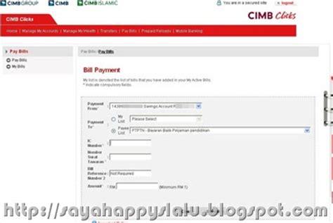 Contoh Letter Of Offer No Ptptn Happy Me Bayar Ptptn Menggunakan Cimbclicks