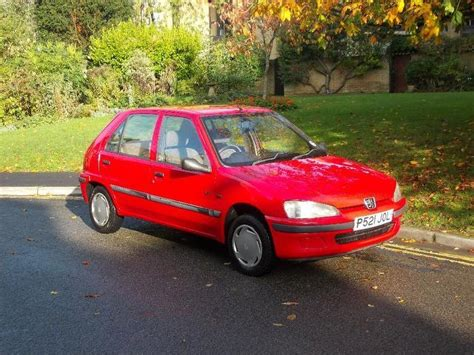 used peugeot 106 used red peugeot 106 2002 petrol 1 1 xl 5dr hatchback in