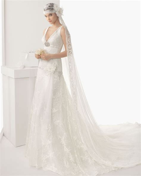 37 magical wedding gowns from rosa 2014 onewed