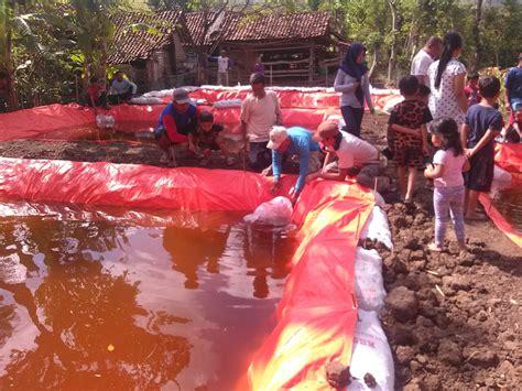 nikmati bantuan program budidaya perikanan warga desa