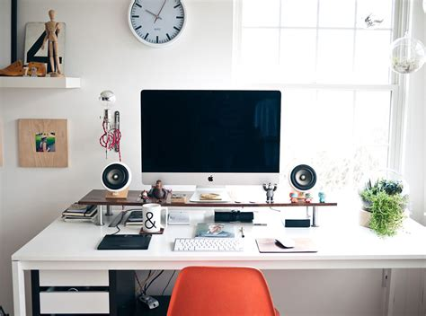 Office Desk Space Designer Workspace Inspiration