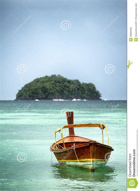 on a boat at sea boat at sea thailand stock photo image of small marine