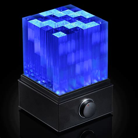supernova led light show bluetooth speaker cube the