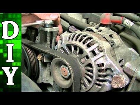 auto air conditioning repair 1999 subaru impreza spare parts catalogs subaru 2 5l alternator power steering pump and ac compressor belt replacement youtube