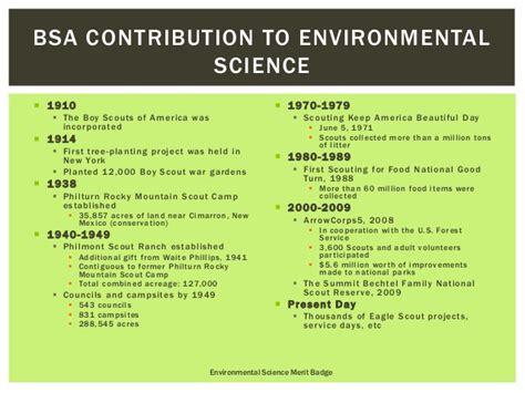 Environmental Science Merit Badge Worksheet Answers by Environmental Science Merit Badge Requirement 1 2 3a