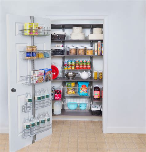 Great Kitchen Storage Ideas Organized Living Pantry Shelving