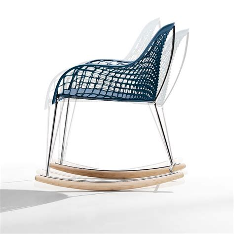 sedie a dondolo design sedia a dondolo guapa dn sempere poli midj arredas 236