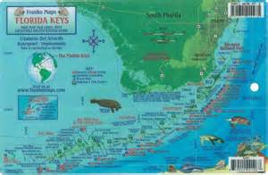 florida dive map reef creatures guide laminated