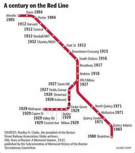 Mbta Map Red Line by 17 Best Images About Mbta On Pinterest Rail Car
